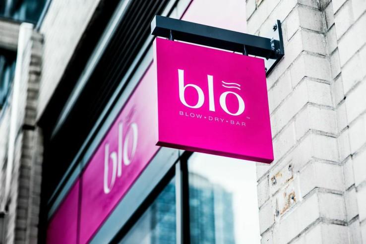 Blo Blow Dry Bar Sign - Blo Chelsea - New York