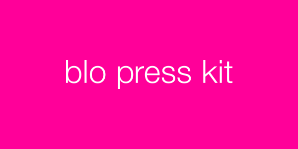 Blo Blow Dry Bar Press Kit
